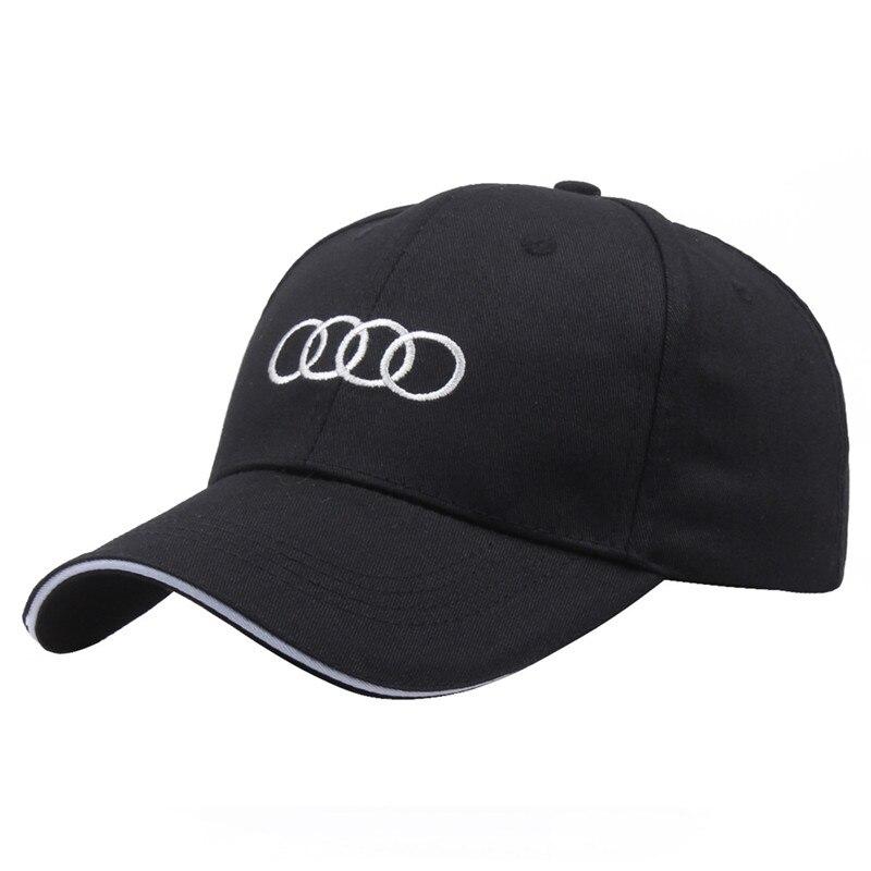 Unisex Cotton Car Logo Performance Baseball Cap Hat For Activity Cap Advertising Sun Hat FOR A4 A3 Q5 Q7 TT R8