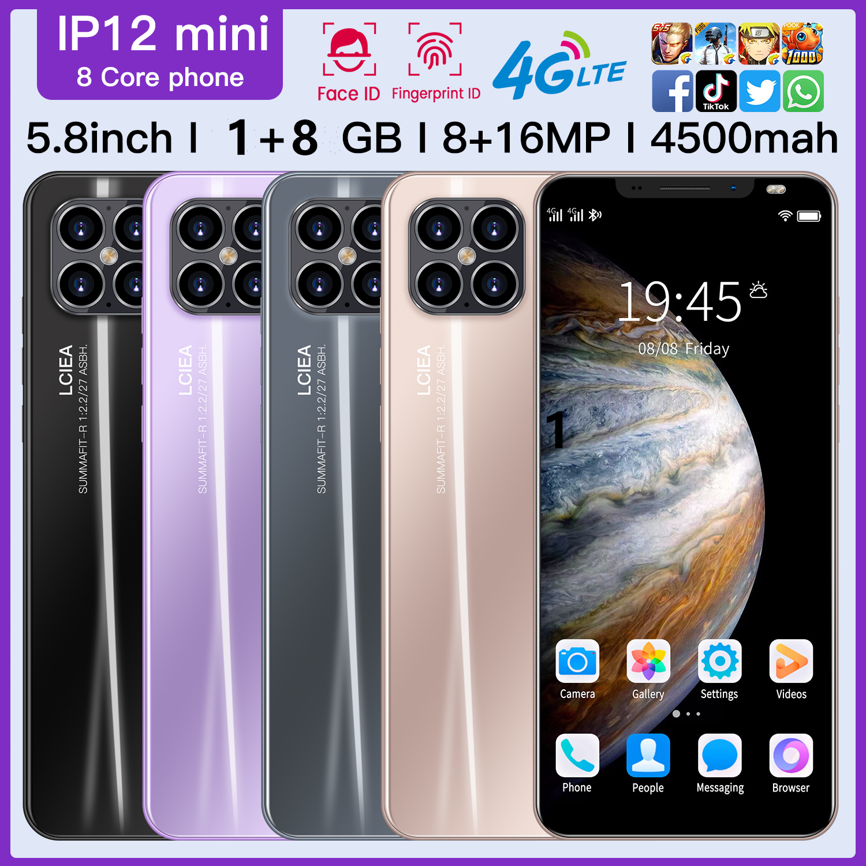 2020 3G смартфон Rugum IP12 мини 5,8 полный Экран разблокирован смартфон Android 4,4 1 Гб + 8 Гб ПЗУ, Две сим-карты, мобильный телефон