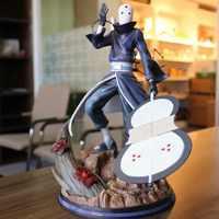 Anime Naruto Akatsuki Uchiha Obito GK Statue Schlacht Ver. PVC Action Figure Sammlung Modell Kinder Spielzeug Puppe Geschenk 31cm