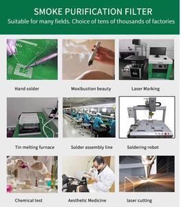 Image 5 - 연기 추출기 레이저 납땜 연기 정화 기계 공기 청정기 연기 흡수기 연기 배기 연기 추출기 용접