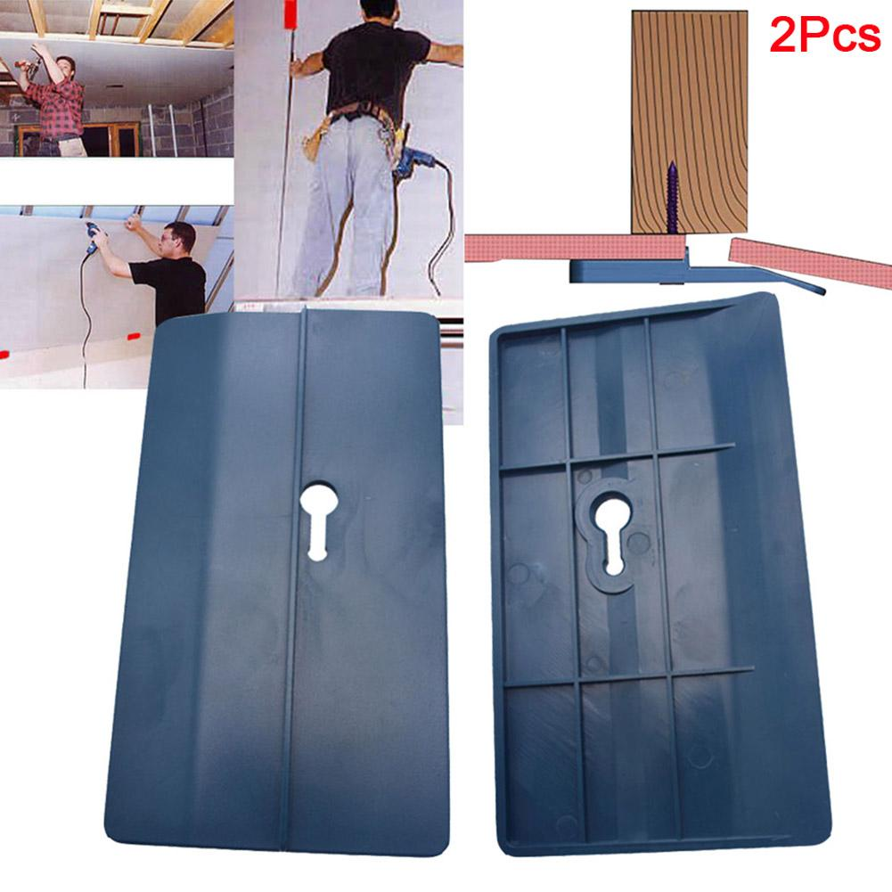 2Pcs Ceiling Positioning Plate Sloped Drywall Plasterboard Fixing Carpenter Tool