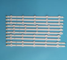 "10pcs/set Aluminum New LED Strip For LG 42"" LC420DUE 42LN5400 42ln575s 42LP360C 6916L-1214A 6916L-1215A 6916L-1216A 6916L-1217A(China)"
