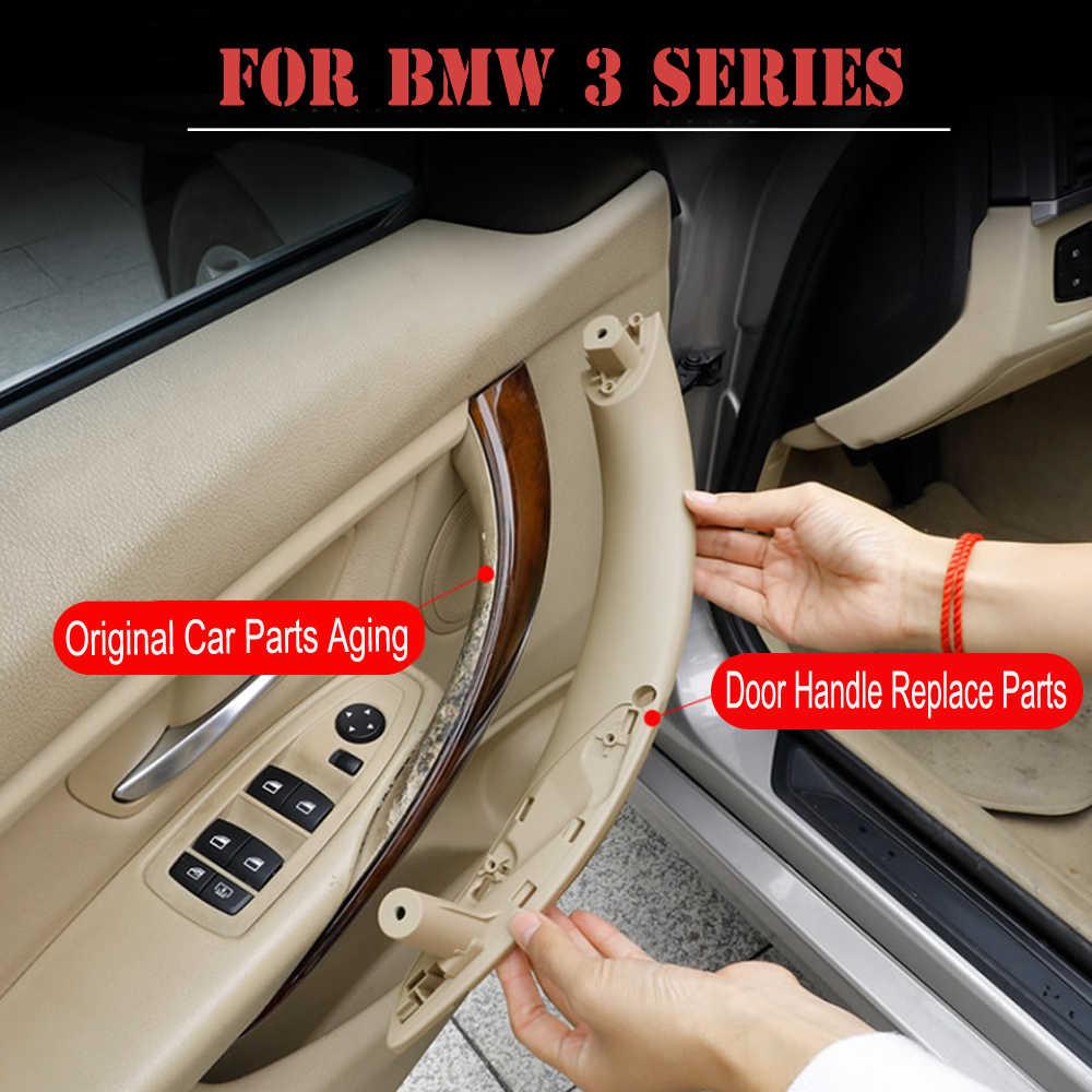Mobil Abs Dalam Panel Pintu Menangani Sedan Tarik Hiasan Penutup untuk BMW 3 Series F30 316D 318d 320D F31 320i 325D 328dx 11-19 51417279312