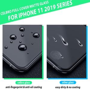 Image 4 - Cubierta completa película de vidrio esmerilado para Iphone 11 Iphone11 Pro Max vidrio protector mate para Iphone11 Pro Xi xs Xr X