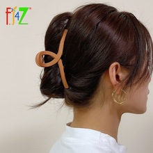 Hair-Clips Jewelry-Accessories Oversize Acrylic Multi-Color Women Dropship Trend F.J4Z
