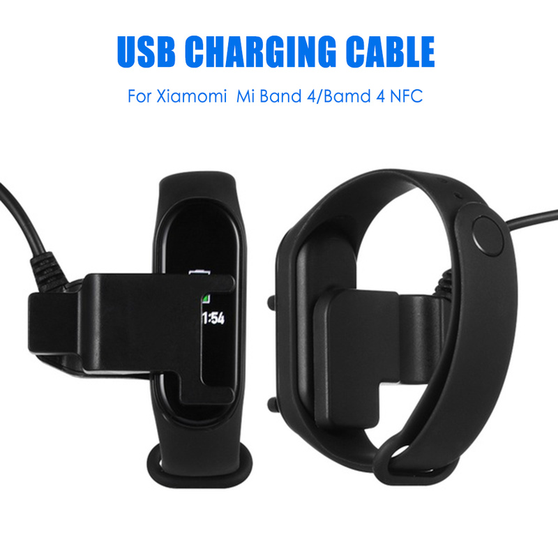 USB Charging Cable Disassembly-free Cable Charger Adapter For Mi Band 4 NFC For Xiaomi Smart Watch Charging Cable Wristband