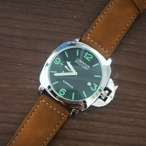 Image 4 - ファッション高級ブランドスポーツ腕時計メンズ防水クォーツ革軍事腕時計男性軍時計男性relojes hombre hodinky