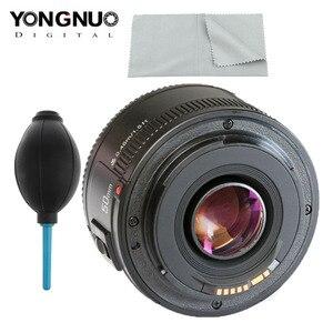 Image 1 - YONGNUO YN EF 50mm f/1.8 AF obiektyw do modeli canon EOS 350D 450D 500D 600D 650D 700D obiektyw aparatu przysłony automatyczne ustawianie ostrości YN50mm obiektyw Hot