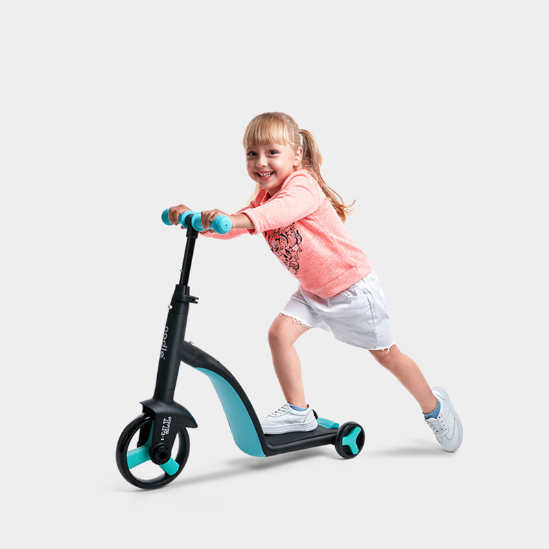 Multi Function Children Scooter Tricycle Baby 3 In 1 Balance Bike Ride On Toys | Happy Baby Mama