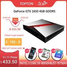 Игровой мини-ПК Intel Core i9 8950HK/i7 9750H/i5 9300H Nvidia GTX 1650 4 Гб игровой Настольный 2 * DDR4 64 Гб DP HDMI
