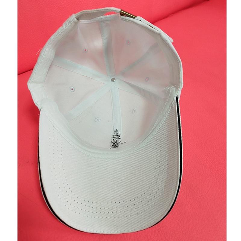 1pc Cotton Cap Baseball Cap Women amp Men Snapback sun hat summer breathable cap fishing hat in Men 39 s Visors from Apparel Accessories