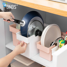 Get more info on the BNBS Kitchen Organizer Storage Box Container For Storage Plastic Organizer Boxes Pot Storage And Organization Kitchen Supplies