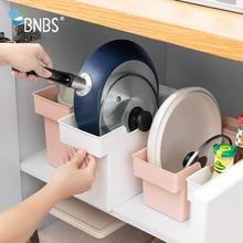 Buy BNBS Kitchen Organizer Storage Box Container For Storage Plastic Organizer Boxes Pot Storage And Organization Kitchen Supplies directly from merchant!