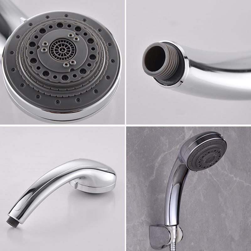 FOHEEL SPA rain shower head hand shower Multifunction adjustable  shower high pressure shower head water saving spa shower head