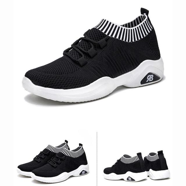 Flat Run Fashionable Shoes Footwear Women color: Black|Pink|Red