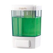 Svavo ручной дозатор мыла настенный 700 мл Прозрачный флакон