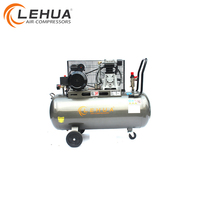 2HP 50L 170L/min Belt Driven Italy type air compressor with oil water separator