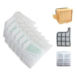 Image 1 - Dust Bags Filter Set Replacement Kit for Vorwerk VK135 VK136 369 Vacuum Cleaner