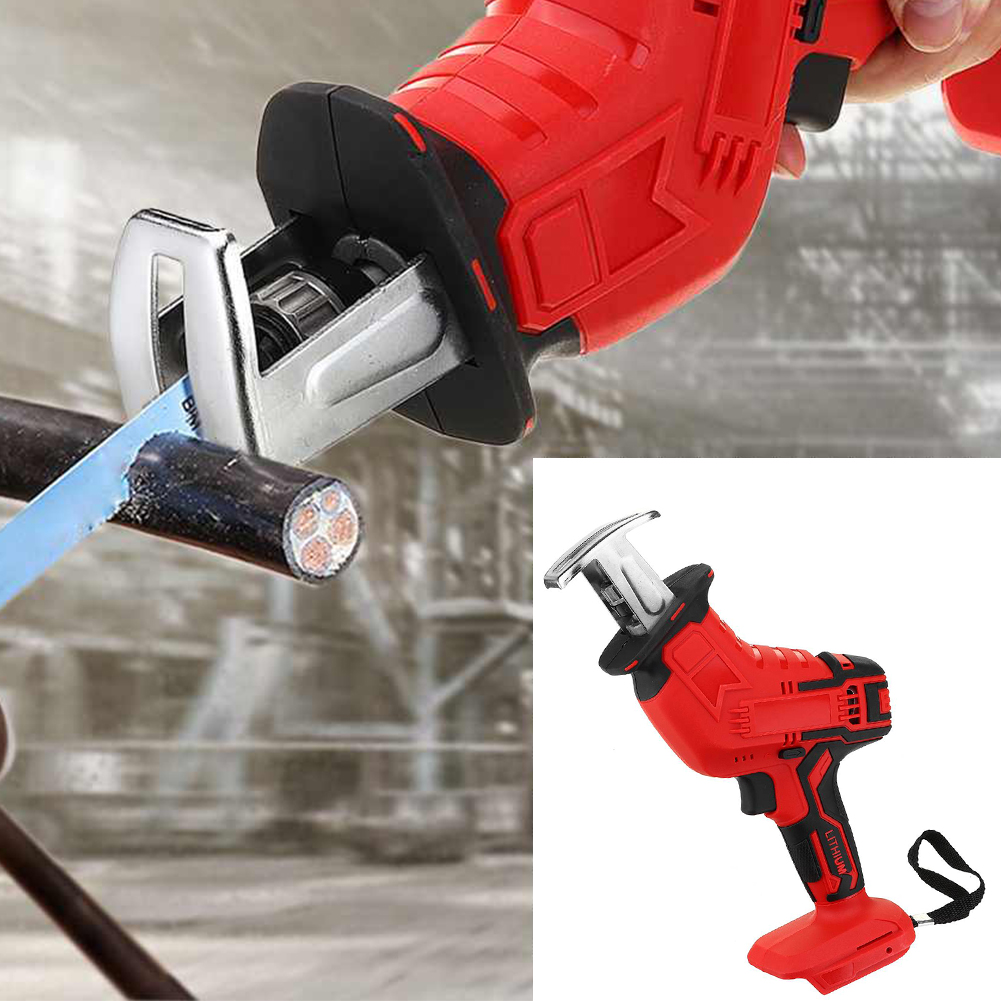 Machine Replacement Cordless Reciprocating Saw Electric 18V For Battery Wood Metal Saw Makita 18V Tool Portable Cutting