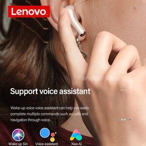 Image 5 - Lenovo LP1S אלחוטי אוזניות TWS אוזניות Bluetooth 5.0 עמיד למים ספורט אוזניות עם מיקרופון עבור אנדרואיד IOS Smartphone