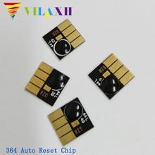 купить Vilaxh 364 Auto Reset Chip replacement For HP 364 Deskjet 3070A 3520 3522 3524 5515 Photosmart Plus B209a B209c B210a B210c по цене 422.05 рублей