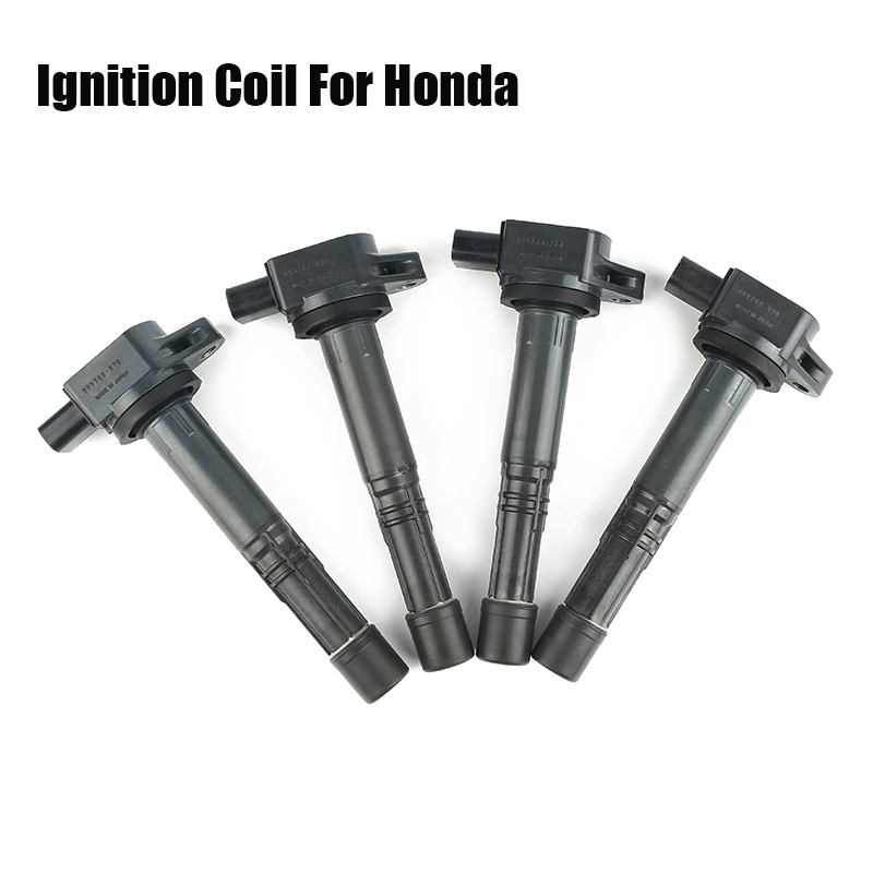 4PCS Ignition Coil For Honda Accord Acura Separate Ignition System RL TL TSX K Series (K20 & K24) VR-EIC02 No099700-070 CAR013