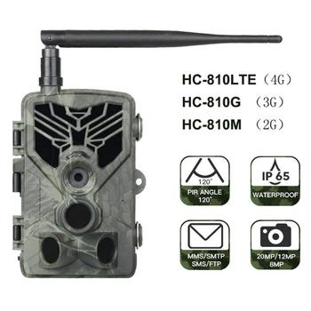 HC-810 3G 2G Hunting Trail Camera 20MP 1080P SMS/MMS/SMTP Photo Trap For Hunting 0.3s Trigger Forest Camera охота и снаряжение 1