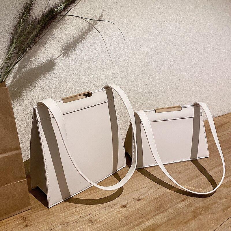 Elegant Female Large Tote Bag 2019  Fashion New High Quality PU Leather Women's Designer Handbag Travel Shoulder Messenger Bag