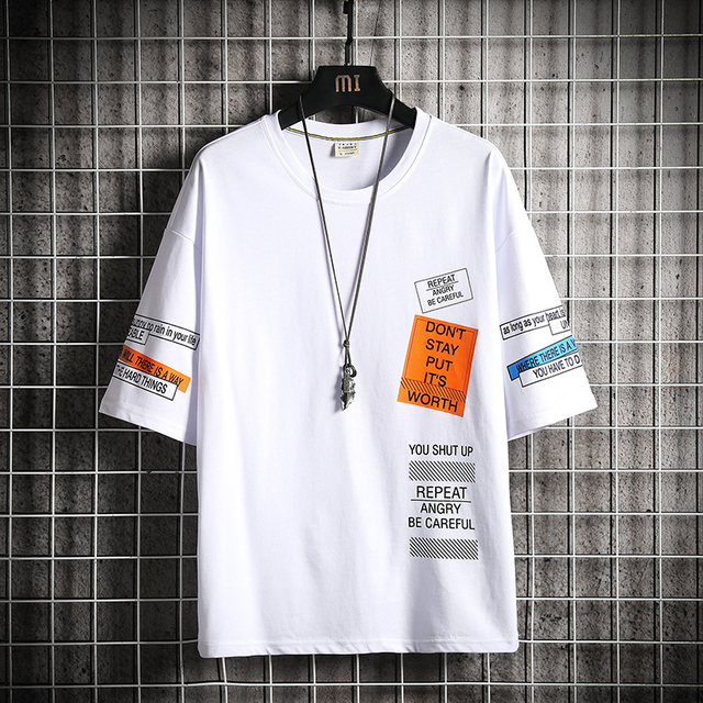 Hip Hop Streetwear Tshirt 4