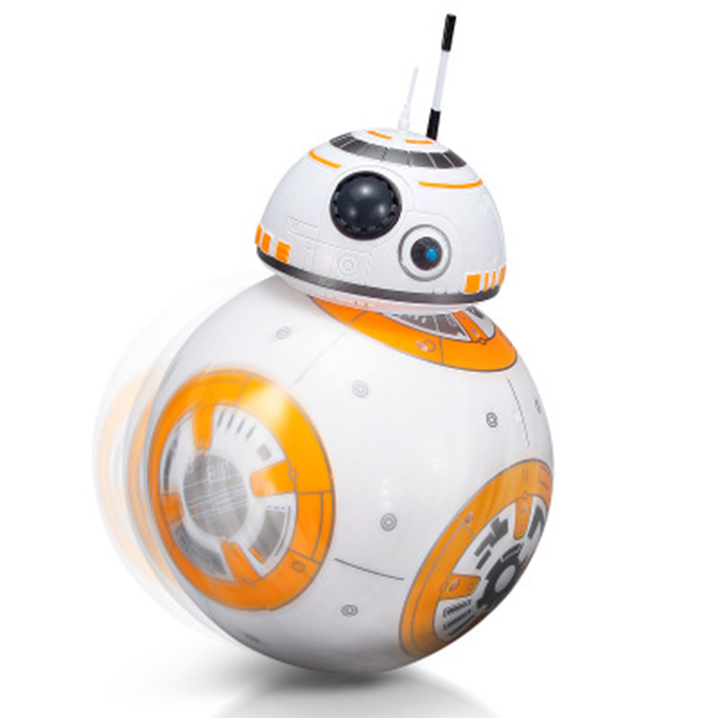 <font><b>Robot</b></font> <font><b>Toys</b></font> Intelligent Star War Upgrade RC <font><b>BB8</b></font> With Sound Action Figure Gift BB-8 Ball <font><b>Robot</b></font> 2.4G Remote Control <font><b>Toys</b></font> For Child image