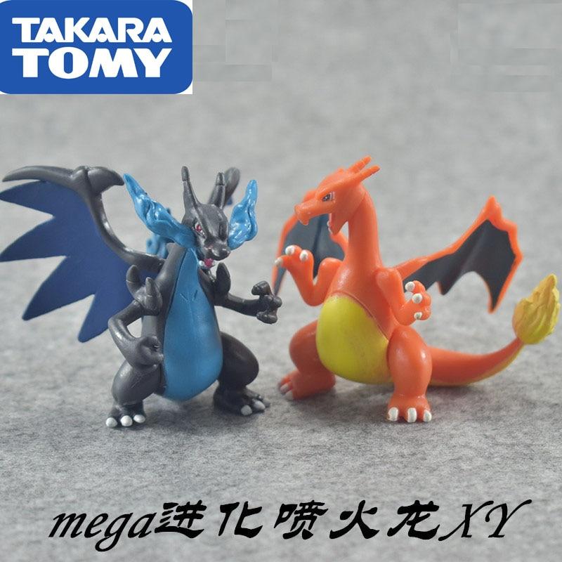 8cm Pokemon pikachu Charmeleon Ivysaur Venusaur Mewtwo anime action & toy figures model toys for children