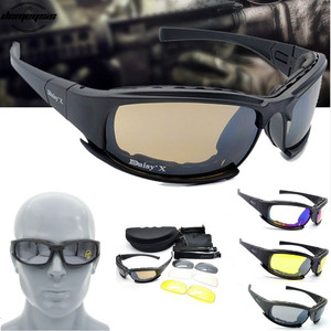 Image 1 - X7 Tactical Polarized Glasses Military Goggles Army Sunglasses with 4 Lens for Hunting Shooting Cycling Motorcycle Glasses