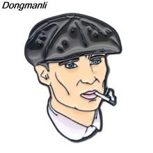 P2272 Dongmanli tv series Peaky Blinders металлическая брошь с эмалью булавка для рюкзака