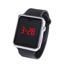 Electroplating Led Square Watch Student Adult For Apple Coup