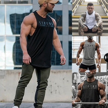 hirigin Gyms Stringer Clothing Bodybuilding Tank Top Men Fitness Singlet Sleeveless Shirt Solid Cotton Muscle Vest Undershirt brand clothing fitness vest gyms singlet red black gray tank top men stringer bodybuilding sleeveless shirt muscle tank top
