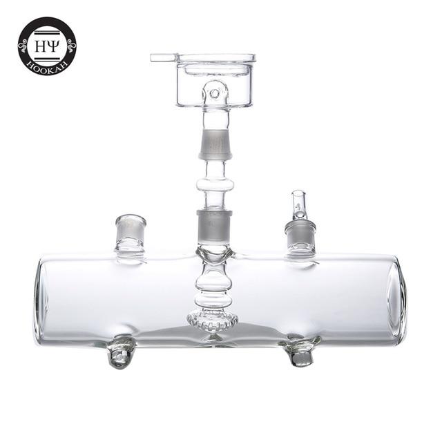 Mp5 бак кальян наргиле США популярные силиконовые чаши металлический уголь держатель стол Chicha наргиле 5 мм толщина стекла