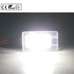 2x12V автомобильный светодиодный светильник, лампа, лампа, дверная лампа для багажника, лампочка для Volvo V40/V40CC V60 S80 S60 XC40 XC60 XC90