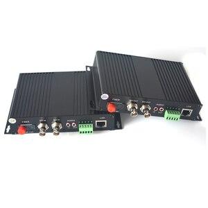Image 2 - 2 kanal HD SDI Fiber Optik Medya Dönüştürücüler Video/Ses/RS485 Veri/10/100 Mbps Ethernet fiber Verici ve Alıcı