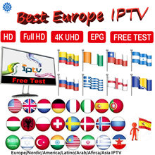 IPTV Subscription Bahasa Perancis Bahasa Belanda Bahasa Swedia Spanyol Swedia Portugal Polandia Nordic Amerika Serikat India Latino SmartTV Android TV Stick Kotak M3U(China)