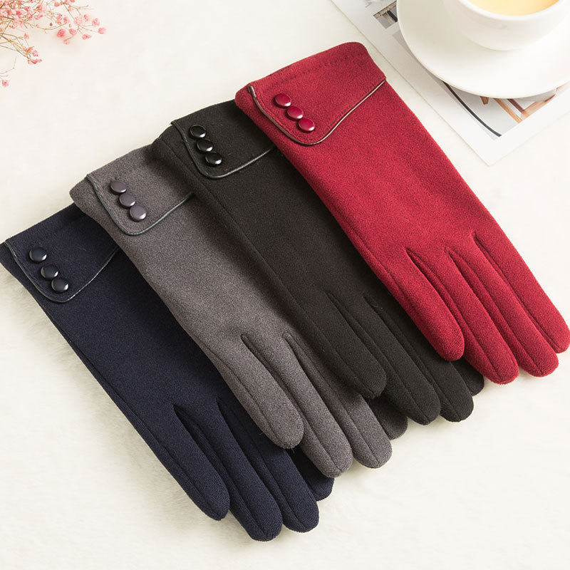 SPARSIL Windproof and Warm Touch Screen Gloves Made of Velvet Suitable for Any Touch Screen Device 3