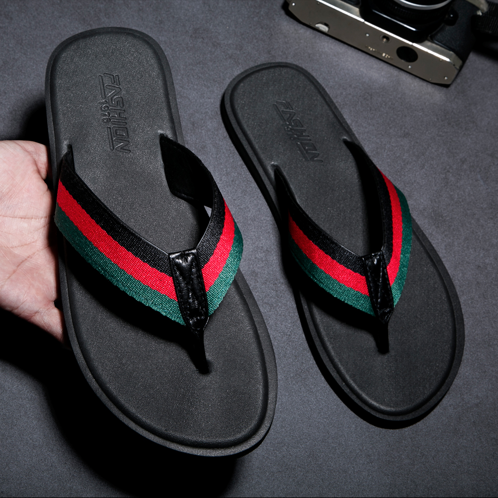 LLUUMIU flip flops men rubber slippers indoor man bathroom house soft summber beach luxury brand shoes men shoes size 49 50