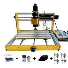Desktop Holz CNC 3018 Plus Router Engraver Fräsen Maschine mit Stepper Motoren Nema17/23 und 52mm Spindel Halter laser Kopf 30W
