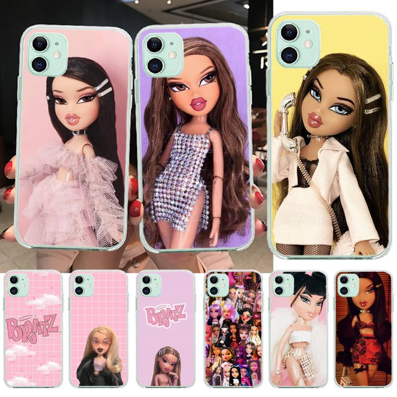 KPUSAGRT Doll Bratz Painted Phone Case for iPhone 11 pro XS MAX 8 7 6 6S Plus X 5S SE 2020 XR cover
