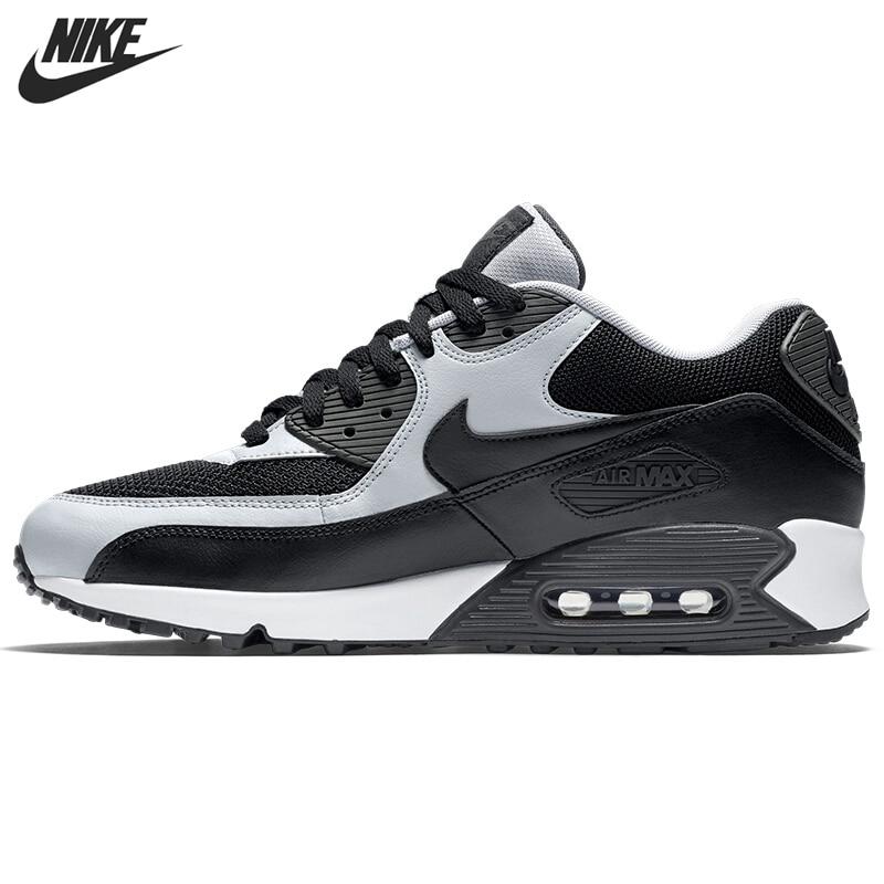 الأصلي وصول جديد نايك الهواء ماكس 90 الأساسية رجالية احذية الجري أحذية رياضية|الاحذية| - AliExpress