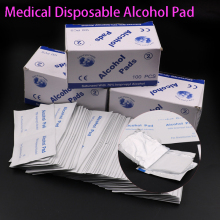 Wet-Wipe Alcohol-Swabs Disposable Antiseptic Clean Prep for Skin-Cleaning-Care Jewelry