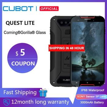Cubot Quest Lite спортивный прочный телефон IP68 MT6761 5,0