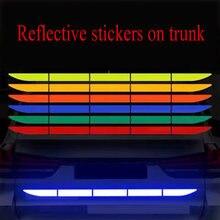 Багажник автомобиля светоотражающие наклейки автомобильные декоративные