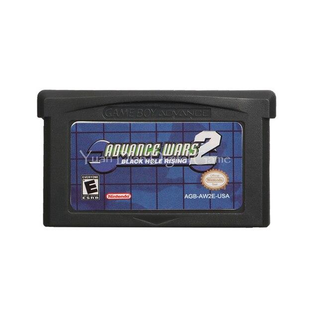 Nintendo GBA 비디오 게임 카트리지 콘솔 카드 Advance Wars 2 영어 버전 미국 버전