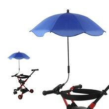 Baby Stroller Buggy Umbrella Sun Shade Parasol 360 Degree Adjustable for Outdoor NSV775