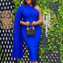 Женское вечернее платье синего цвета; Элегантные туфли в стиле